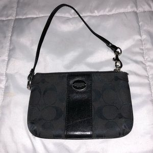 Small Coach Clutch/Wristlet